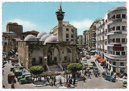 LIBAN/LEBANON - BEYROUTH/BEIRUT - RUE MAARAD / OLD CARS / JEEP / MOSQUE (ED.GULTRACO) - Libano