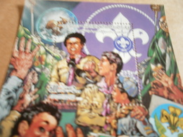 Miniature Sheets Libya 75th Anniversary Of The Scouts - Libya