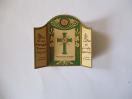 CONFIANCE ABANDON ETOFFE AYANT ENVELOPPE LES OSSEMENTS DE Ste THERESE DE L'ENFANT-JESUS - Devotion Images