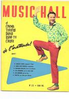REVUE MUSIC HALL N° 22 CHARLES TRENET ELVIS PRESLEY BILL HALEY - Musique