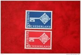 Europa CEPT NVPH 906-907 (Mi 899-900); 1968 POSTFRIS / MNH ** NEDERLAND / NIEDERLANDE - 1949-1980 (Juliana)