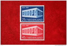 Europa CEPT NVPH 925-926 (Mi 920-921); 1969 POSTFRIS / MNH ** NEDERLAND / NIEDERLANDE - 1949-1980 (Juliana)