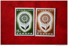 Europa CEPT NVPH 827-828 (Mi 827-828); 1964 POSTFRIS / MNH ** NEDERLAND / NIEDERLANDE - 1949-1980 (Juliana)