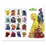 Pre Order. USA Stamps 2019 - Sesame Street.( 16 Stamps) - Sheet. - Estados Unidos