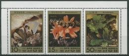 Korea (Nord) 1986 Mineralien: Annabergit, Bachit 2788/90 ZD Postfrisch (C74747) - Korea, North