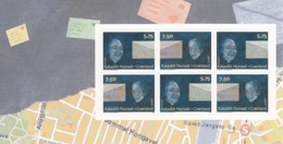 Greenland 2008 MNH Sc 513-514 Envelope Half, Man And Woman EUROPA Left Booklet Pane Of 6 - Groenland