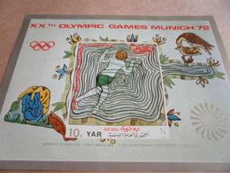 Miniature Sheets 1972 Munich Olympics - Yemen