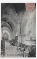 PACY SUR EURE EN 1906 - N° 2 - INTERIEUR DE L' EGLISE - BEAU CACHET - CPA VOYAGEE - Pacy-sur-Eure