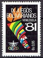 Venezuela 1981 - IX Games Bolivarianos - Michel 2174 - MLH, Avec Charniere, Ungebraucht - Venezuela