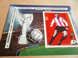 Miniature Sheets 1970 Football World Cup Mexico 70 - Yemen