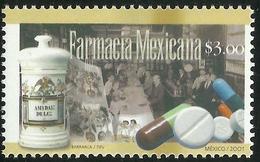 2001 MÉXICO Farmacia Mexicana Mnh Sc. 2237, MEXICAN PHARMACY Medicines, Pills, HEALTH - Mexico