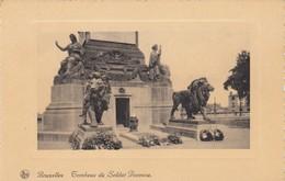 Postcard Bruxelles Tombeau Du Soldat Inconnu  My Ref  B13277 - Monuments