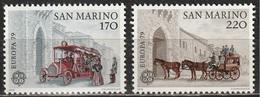 San Marino 1979 - EUROPA - C.E.P.T. - 2 Valori MNH ** - San Marino