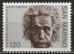 San Marino 1979 - Albert Einstein - MNH ** - San Marino