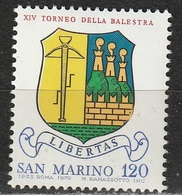 San Marino 1979 - Torneo Balestra - MNH ** - San Marino