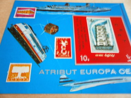 Miniature Sheets New UPU Building Bern 1970 - Yemen