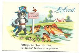 1ER AVRIL - POISSON D'AVRIL - CHAT - 110 - 1er Avril - Poisson D'avril