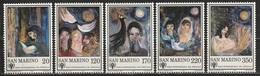 San Marino 1979 - Anno Del Fanciullo - 5 Valori MNH ** - San Marino