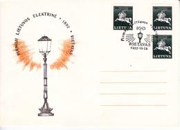 Lituanie   Lietuva 1992   Special Cancell - Lithuania