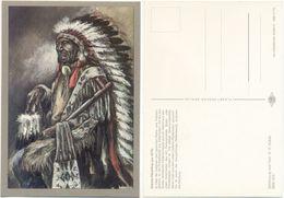 AK Indianer, Dakota Häuptling Um 1870, K. D. Kubat, Planet Verlag Berlin - Indianer