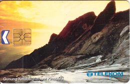 MALAYSIA(chip) - Mount Kinabalu, Telecom Malaysia Telecard RM20, Chip GEM1.3, Used - Malaysia