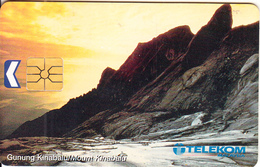 MALAYSIA(chip) - Mount Kinabalu, Telecom Malaysia Telecard RM20, Chip GEM1.1, Used - Malaysia