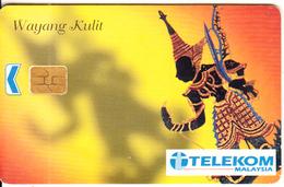 MALAYSIA(chip) - Wayang Kulit, Telecom Malaysia Telecard RM10, Used - Malaysia
