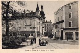 Mâcon  -Place De La Barre Et La Poste - Macon