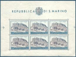 San-Marin Bloc N°4A  - 75ème Anniversaire De L'UPU - 100L Neuf** - Blocks & Sheetlets