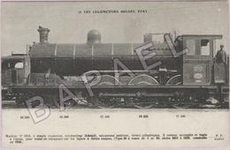 Belgique - Locomotive - Machine N° 3203 Trains De Voyageurs - Trains