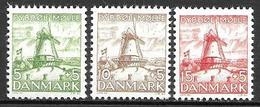 Denmark 1937- Windmills - 1913-47 (Christian X)