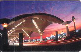 MALAYSIA(chip) - KLIA, Kuala Lumpur International Airport, Telecom Malaysia Telecard RM10, Chip GEM3.3, Used - Malaysia