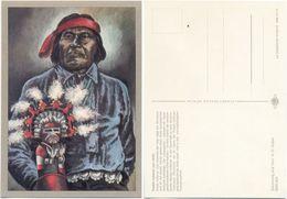 AK Indianer, Pueblo Indianer Um 1940, K. D. Kubat, Planet Verlag Berlin - Indianer