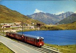 CPM - Train Suisse - Trains