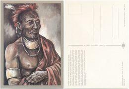 AK Indianer, Krieger Waldlandregion Um 1830, K. D. Kubat, Planet Verlag Berlin - Indianer