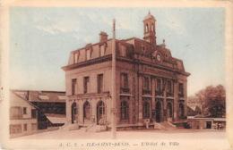 ILE SAINT DENIS L Hotel De Ville 8(scan Recto-verso) MA1201 - Saint Denis