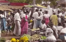 CEYLON - MARKET SCENE, COLOMBO BAZAAR - Sri Lanka (Ceylon)