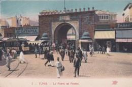 TUNIS -LA PORTE DE FRANCE - Tunisia