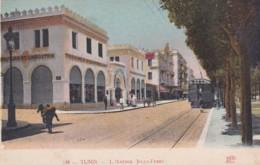 TUNIS -L'AVENUE  JULES FERRY - Tunisia