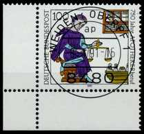 BRD 1991 Nr 1490 Zentrisch Gestempelt ECKE-ULI X84E046 - BRD