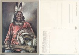 AK Indianer, Dakota Krieger Um 1890, K. D. Kubat, Planet Verlag Berlin - Indianer