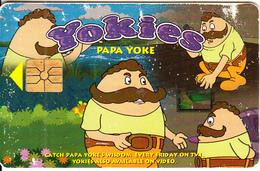 MALAYSIA(chip) - Yokies/Papa Yoke, CITIFON Telecard RM10, Chip GEM1.1, Used - Malaysia