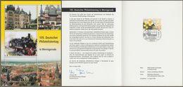 "Bund: Minister Card - Ministerkarte, Mi-Nr. 2414 SST, "" 105. Philatelistentag In Wernigerode 2004 ""    X - Covers & Documents"