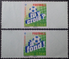 LOT 2028 - 2010 -FOOTBALL - TIMBRE RECTO VERSO - N°RP1 NEUF** - Frankreich