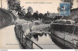 MONTCY SAINT PIERRE - Le Canal - Très Bon état - France