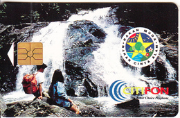 MALAYSIA(chip) - Rakan Muda/Rakan Cinta Alam, CITIFON Telecard RM10, Chip GEM1.3, Used - Malaysia