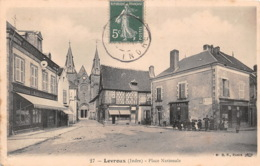 LEVROUX Place Nationale 24(scan Recto-verso) MA1217 - France