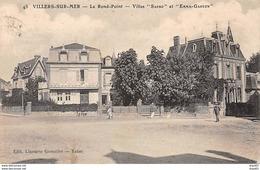 """VILLERS SUR MER - Le Rond Point - Villas """" Sapho """" Et """" Emma Gaston """" - Très Bon état - Villers Sur Mer"""