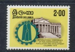 Sri Lanka 1979 Population & Development MUH - Sri Lanka (Ceylon) (1948-...)
