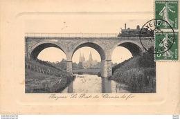 BAYEUX - Le Pont Du Chemin De Fer - Très Bon état - Bayeux